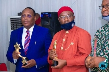 Abia State government honours Ikwuano born security expert,  Amb. (Dr) Okegbue JP